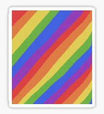 Pride Month - Rainbow and Bright - International World Pride Gift - LGBT - LGBTQ - LGBTQIA Sticker
