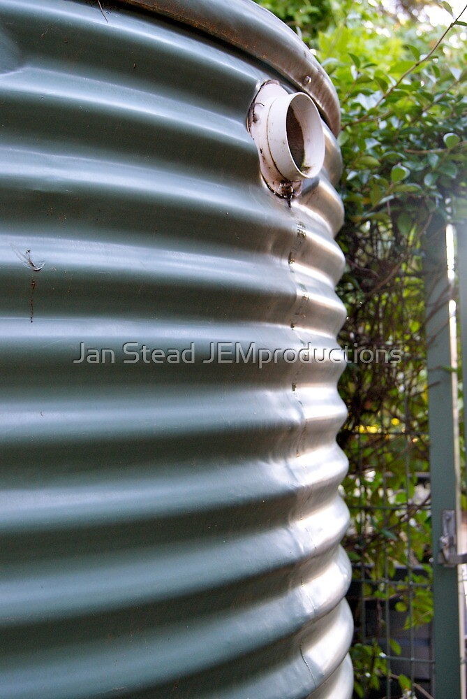 rainwater tank by Jan Stead JEMproductions