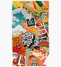 vsco collage Poster