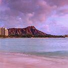 Waikiki Sunset Panorama by Scott Carr