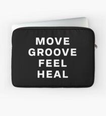 Dustin Ransom - Move Groove Feel Heal Laptop Sleeve