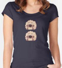 Sleepy Wooloo [B] Fitted Scoop T-Shirt