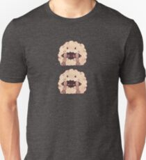 Sleepy Wooloo [B] Slim Fit T-Shirt