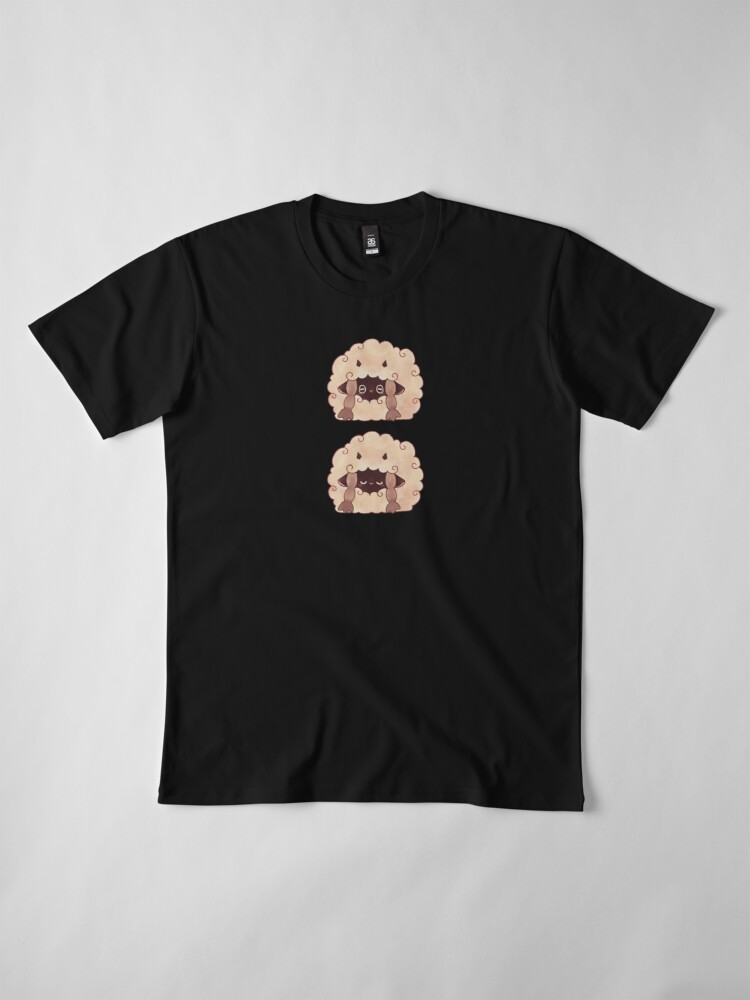 Alternate view of Sleepy Wooloo [B] Premium T-Shirt