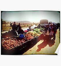 Beautiful Algeria - Village Market Poster
