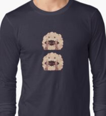 Sleepy Wooloo [C] Long Sleeve T-Shirt
