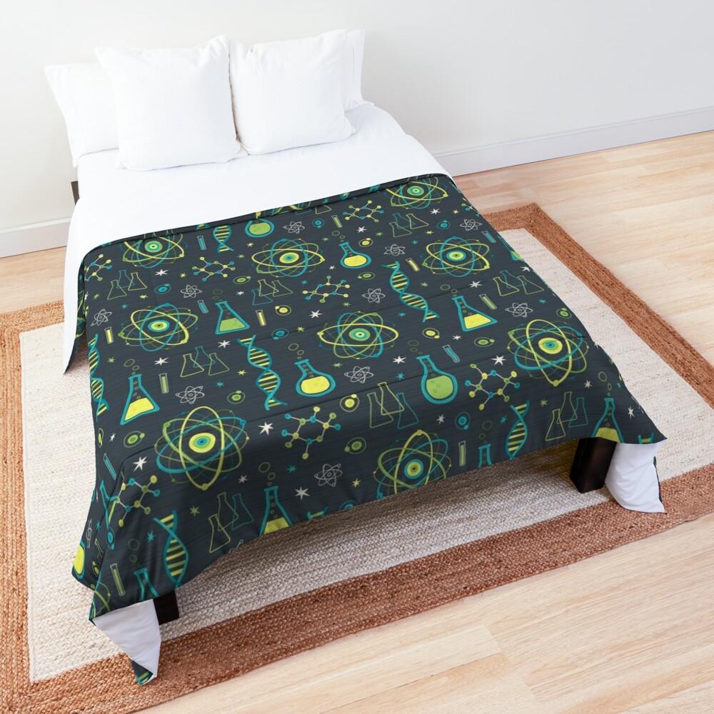 Midcentury Modern Science Comforter