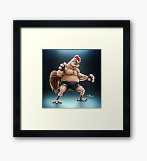 KFC Fighter Framed Print