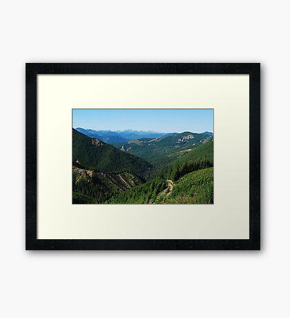 Long Distance Vista Framed Print