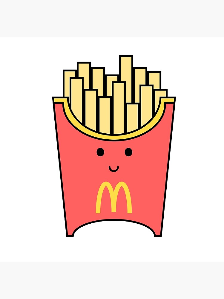 Mcdonalds Fries Greeting Card By Ethan Nguyen Redbubble