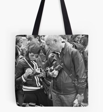 The Old Camera Stall: Portobello Road, London, UK. Tote Bag