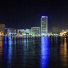 Dubai Creek Night Panorama by Scott Carr