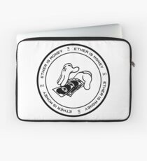 Ether Is Money Laptop Sleeve