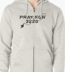 Pray for 3228 Zipped Hoodie