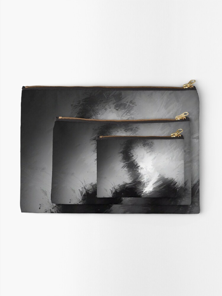 Alternate view of The Abstract Washington Zipper Pouch