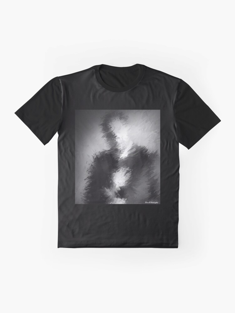 Alternate view of The Abstract Washington Graphic T-Shirt