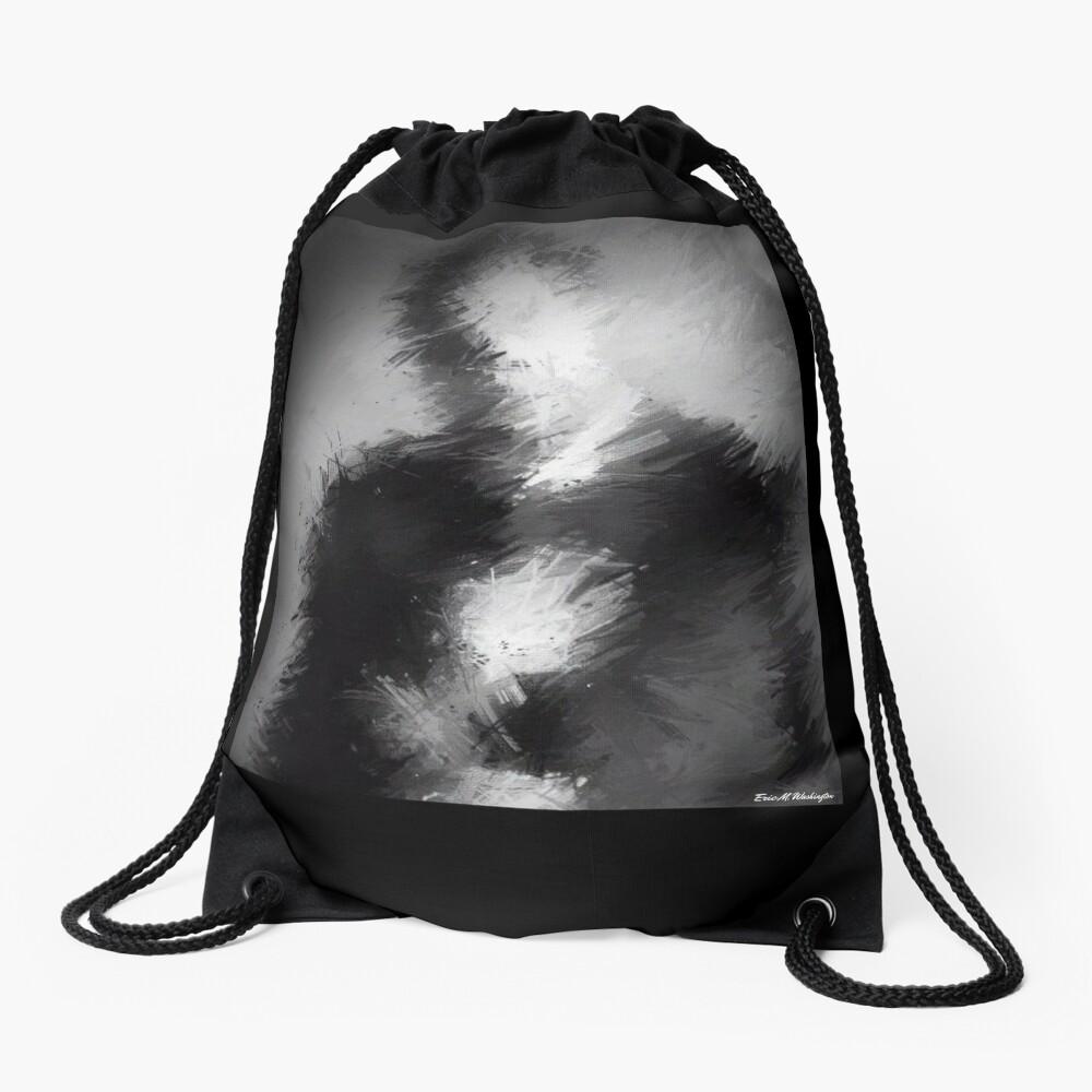 The Abstract Washington Drawstring Bag