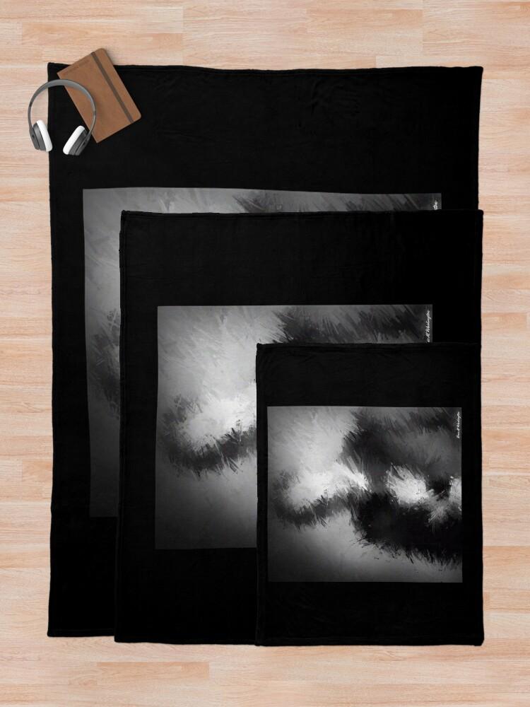 Alternate view of The Abstract Washington Throw Blanket