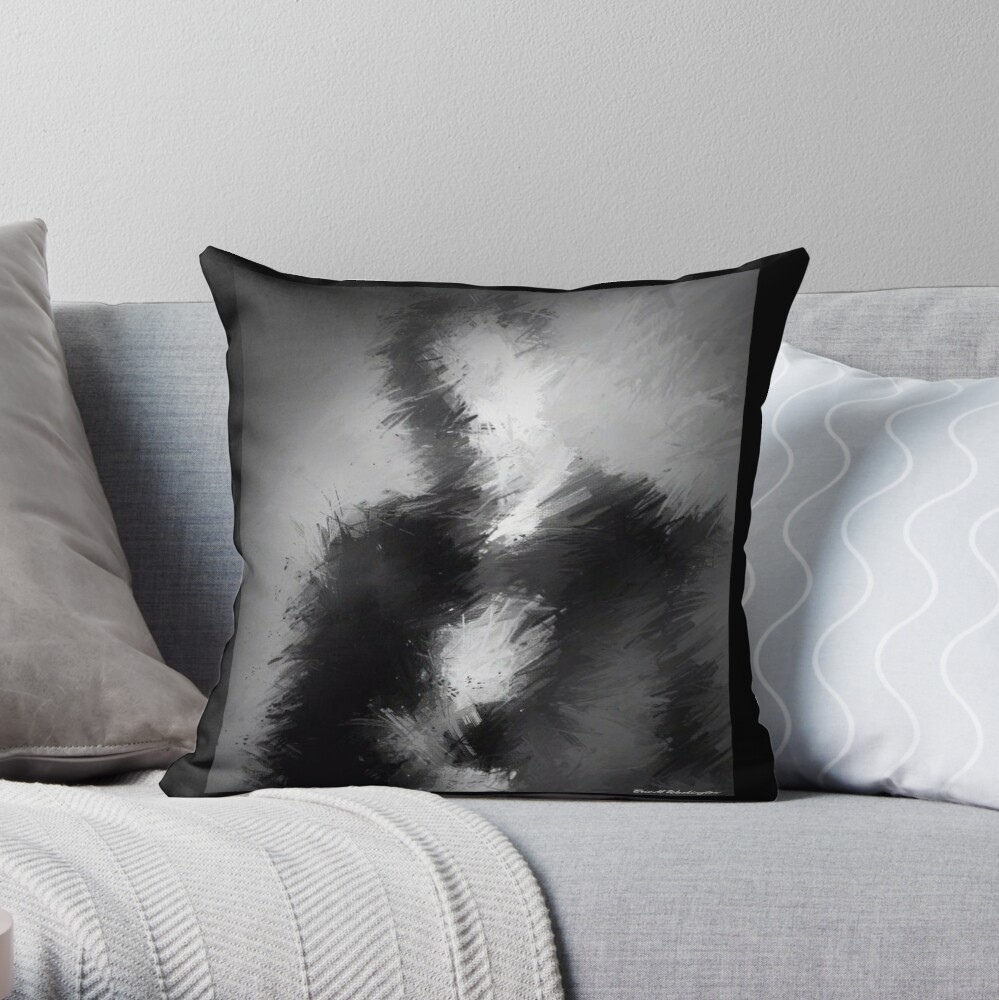 The Abstract Washington Throw Pillow