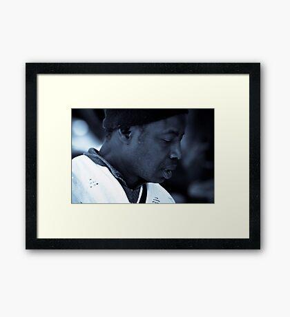 The African Trader Pt 2 Framed Print