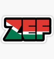 Zef (Afrikaans) Sticker