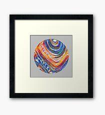 #Deepdreamed planet Framed Print
