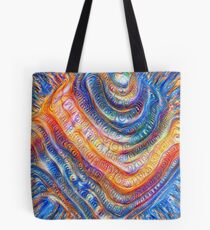 #Deepdreamed planet Tote Bag