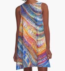 #Deepdreamed planet A-Line Dress