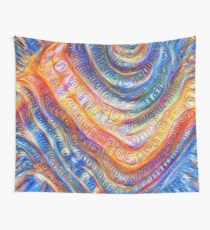 #Deepdreamed planet Wall Tapestry