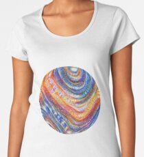 #Deepdreamed planet Premium Scoop T-Shirt