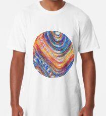 #Deepdreamed planet Long T-Shirt