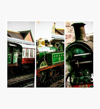 Steam on the Bluebell Line Photographic Print