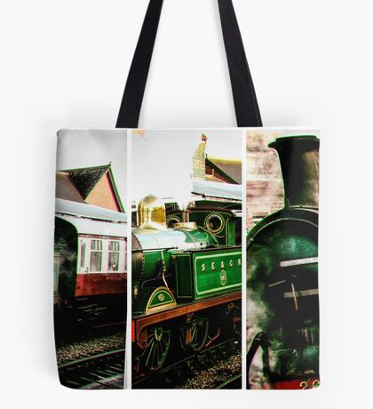 Steam on the Bluebell Line Tote Bag