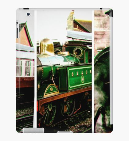 Steam on the Bluebell Line iPad Case/Skin