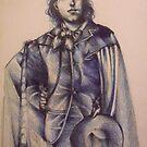 Oscar In Blue by John Dicandia ( JinnDoW )