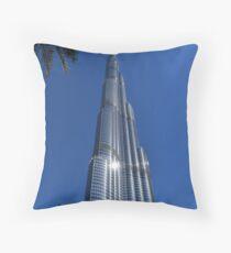 Burj Khalifa Dubai Mall, Dubai Throw Pillow