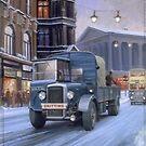 Birmingham breakdown Daimler by Mike Jeffries