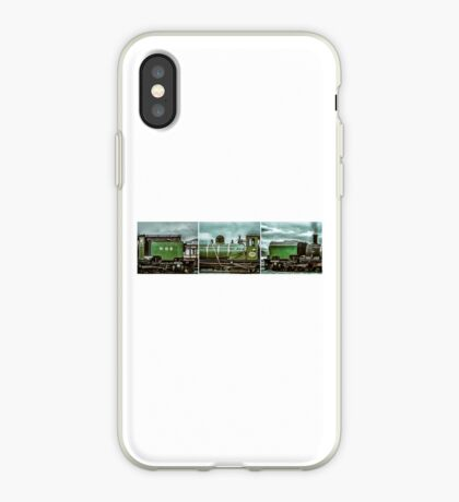 Steam in Wales  iPhone Case