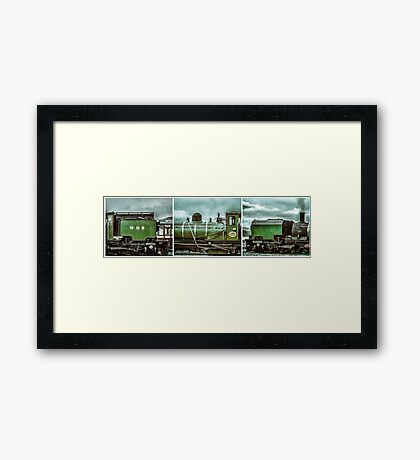 Steam in Wales  Framed Print