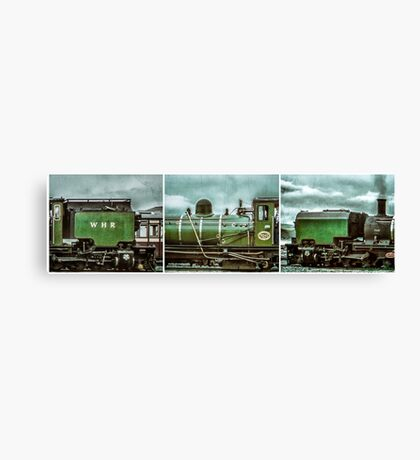 Steam in Wales  Canvas Print