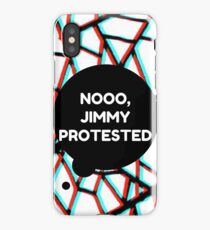 Louis Tomlinson - Noooo Jimmy Protested iPhone Case/Skin