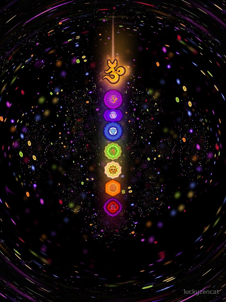 CHAKRA COSMIC CONNECTION by luckyzencat