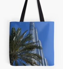 Burj Khalifa Dubai Mall, Dubai Tote Bag