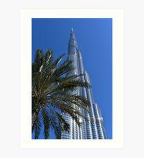 Burj Khalifa Dubai Mall, Dubai Art Print