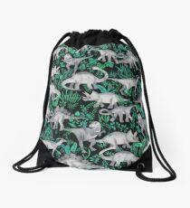 Dinosaurier-Dschungel Turnbeutel