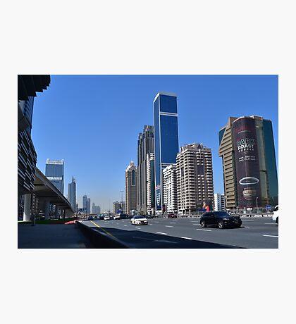 Dubai, Sheikh Zayed Road Photographic Print