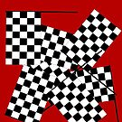 Checkerboard Pattern: Race Flags by isstgeschichte