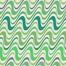 Wiggly Jiggly Mint by BigFatArts