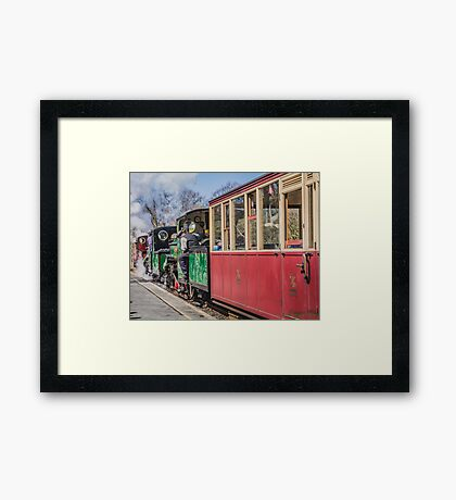 The Snowdonian 2015 by Lizzie Weir  Framed Print