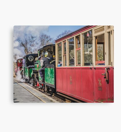 The Snowdonian 2015 by Lizzie Weir  Canvas Print